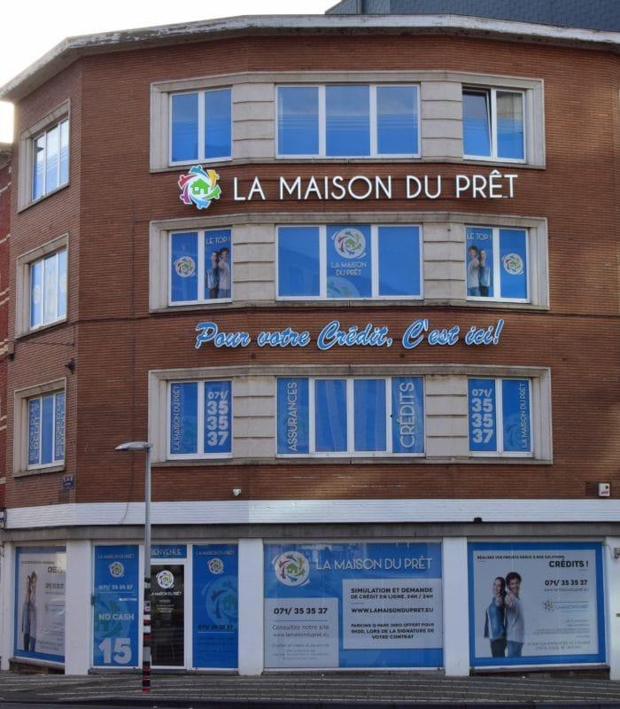 Déménagement de notre bureau de courtage en crédit à Charleroi